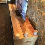 Recycled Pallet Wood Stand Ideas