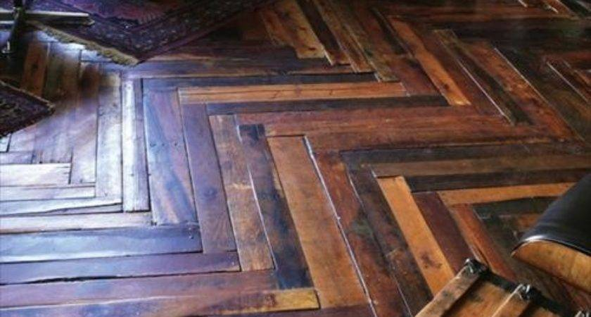 Recycled Wood Pallet Flooring Ideas Pallets Designs