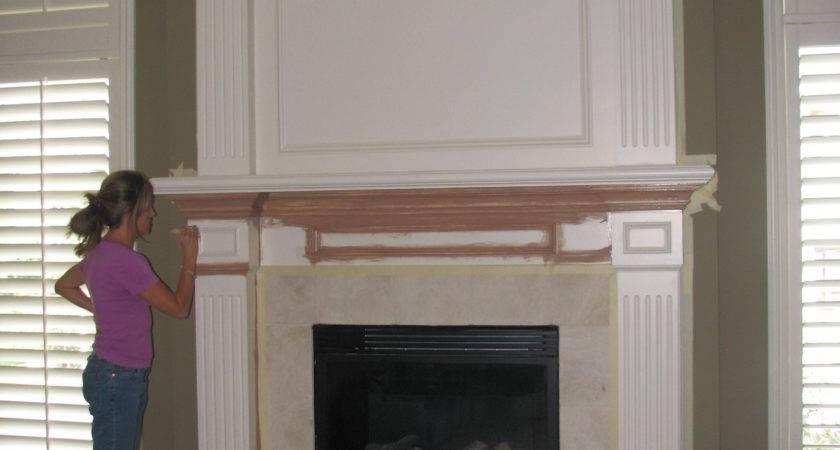 Red Brick Fireplace Makeover Home Design Inside