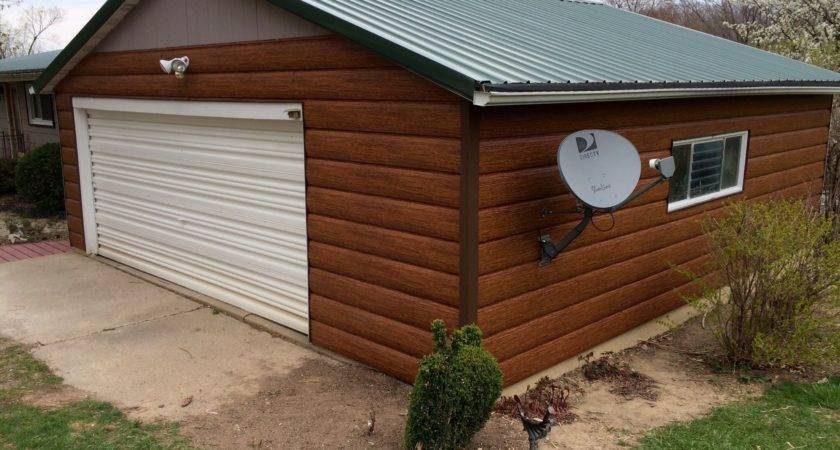 Red Cedar Steel Log Siding Tru
