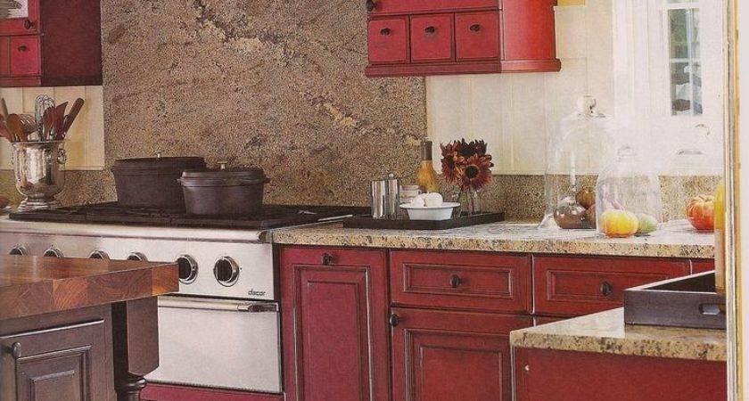 Red Yellow Kitchen Ideas