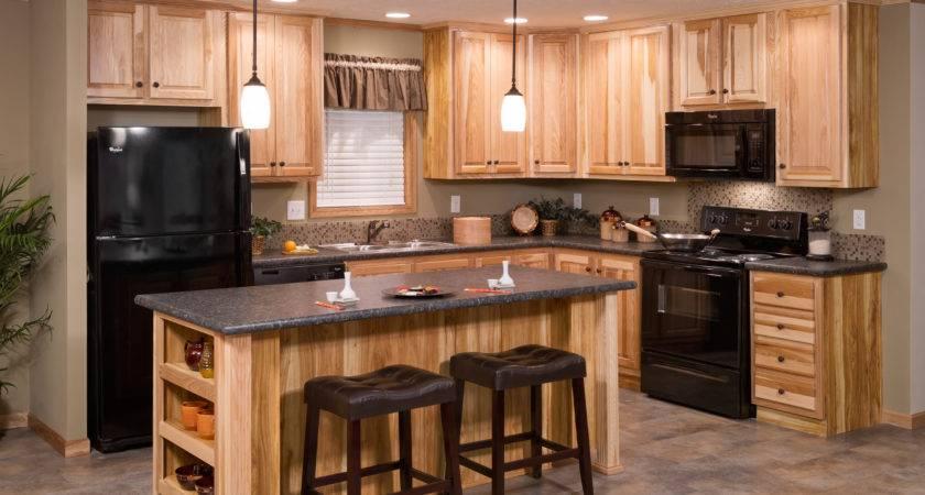 Redman Model Home Hickory Cabinets Brooks Village