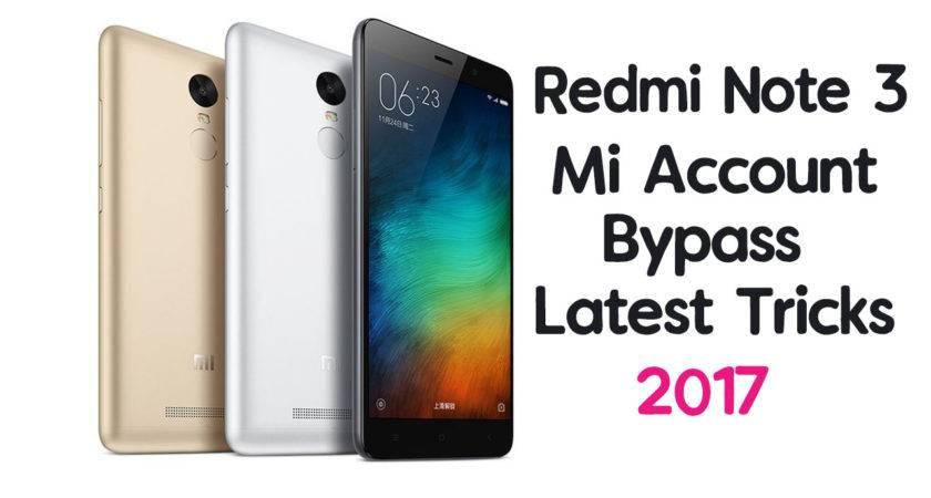 Redmi Note Account Bypass Mobile Guru