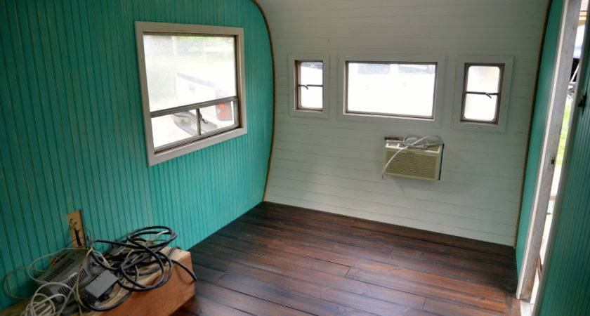 Redoing Vintage Camper Bungalow Style