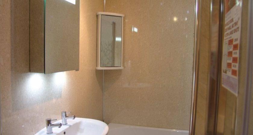 Reef Travertine Gloss Waterproof Pvc Shower Wall Boards