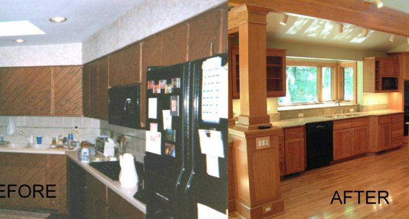 Refined Traditional Architecture Ranch Before After