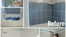 Refinish Outdated Tile Yes Painted Shower