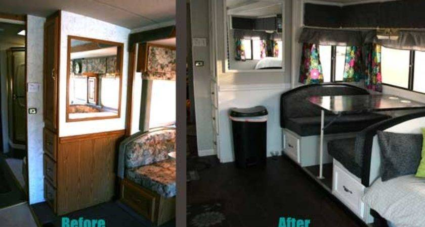 Refinish Ugly Booth Dinette New Lighter Life
