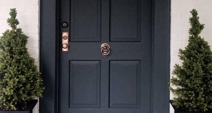 Refreshing Front Door Trim Ideas Best Exterior