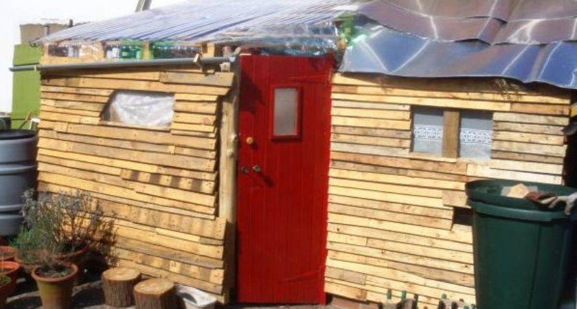Relaxshacks Five Fab Pallet Sheds Huts Forts