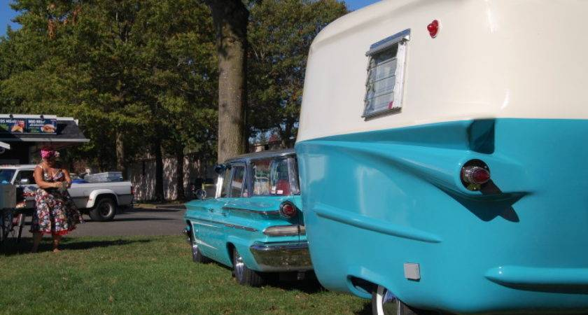 Relic Trailers Offer Modern Convenience Retro Styling