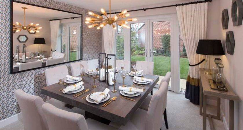 Remarkable Show Home Dining Rooms Best