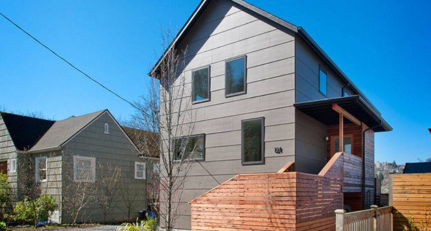Remodel Contemporary Exterior Seattle