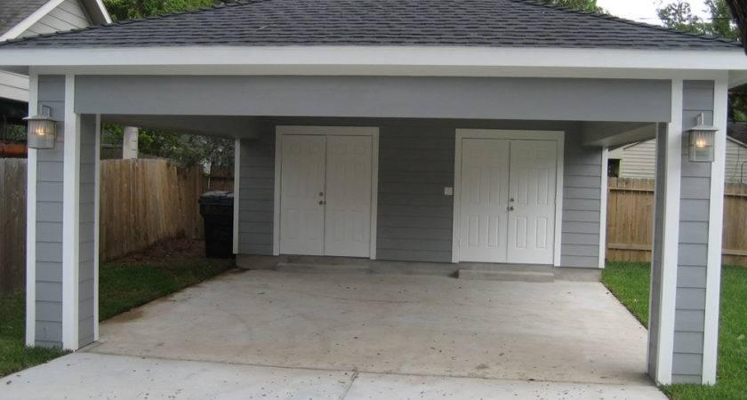 Remodel Houston Garage Carport Addition Recraft Homes