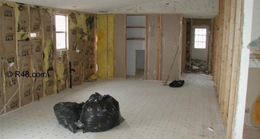 Remodeling Mobile Home Walls Renovation