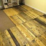 Removable Pallet Kitchen Floor Pallets