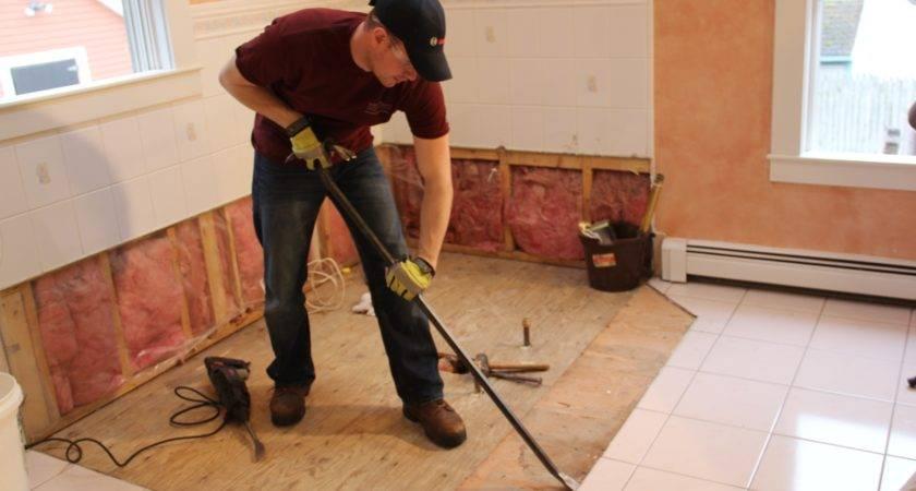 Remove Ceramic Tile Hardwood Floors Thefloors