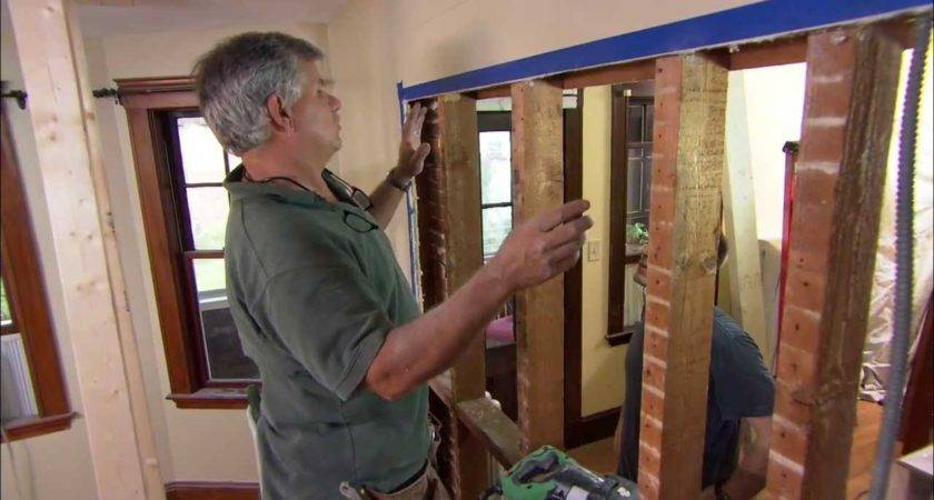 Remove Load Bearing Wall Old House Youtube