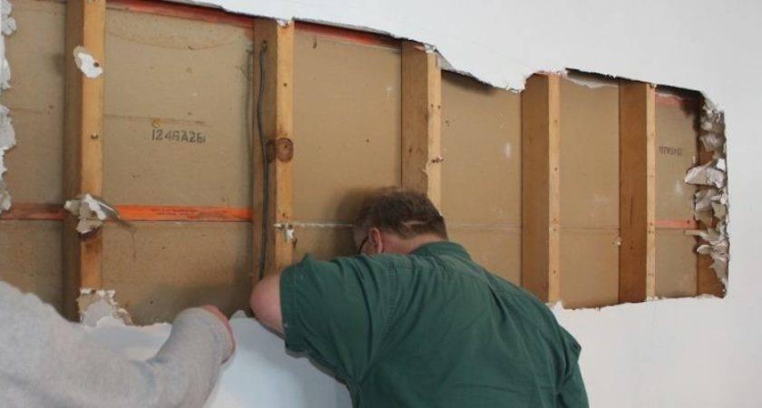 Remove Wall Load Bearing Not Install