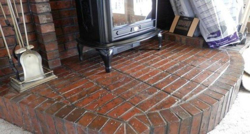 Removing Brick Hearth Please Help