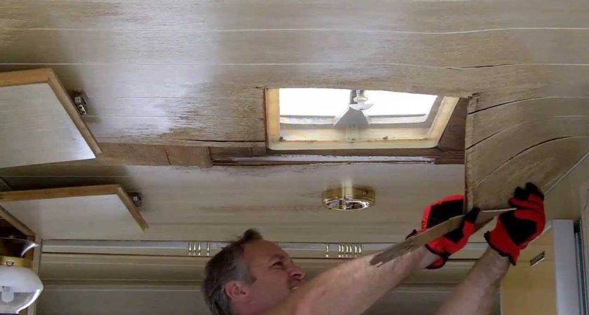 Removing Paneling Ceiling Youtube
