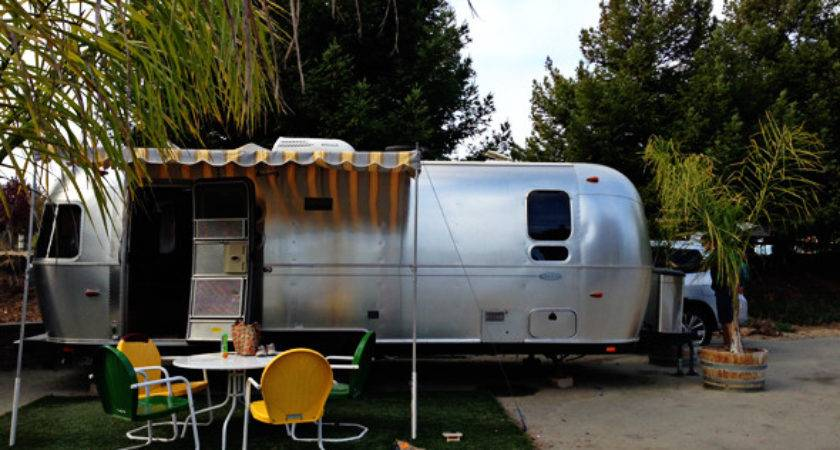 Renting Airstream Near Monterey Camping