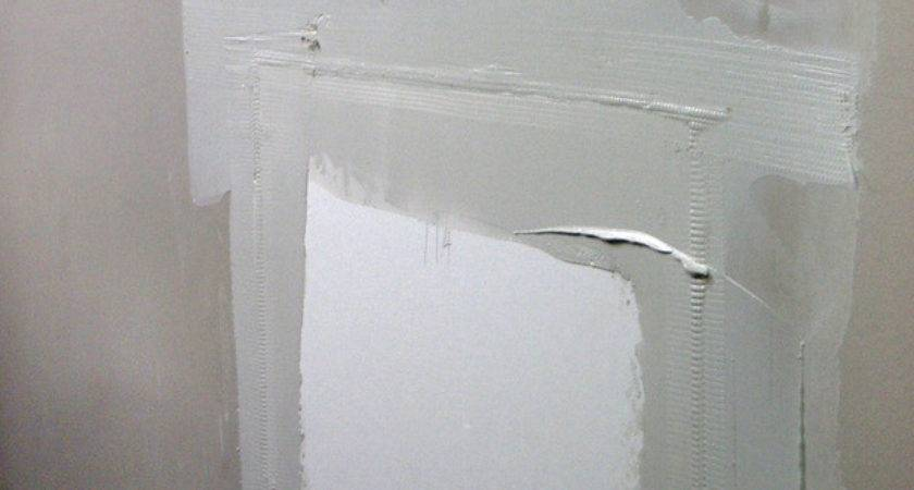 Repair Cracks Holes Drywall Tos Diy