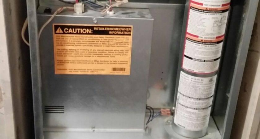 Repair Miller Mobile Home Furnace