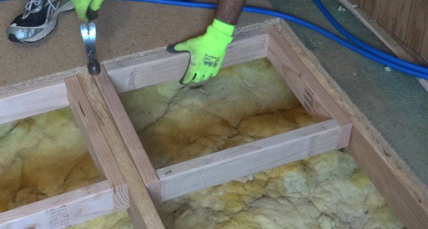 Repair Replace Damaged Section Sub Floor