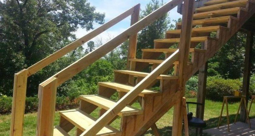 Repair Your Deck Railing Stairs Hometalk