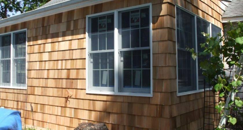 Repairing Cedar Siding Windows Doors