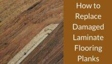 Replace Damaged Laminate Flooring Planks