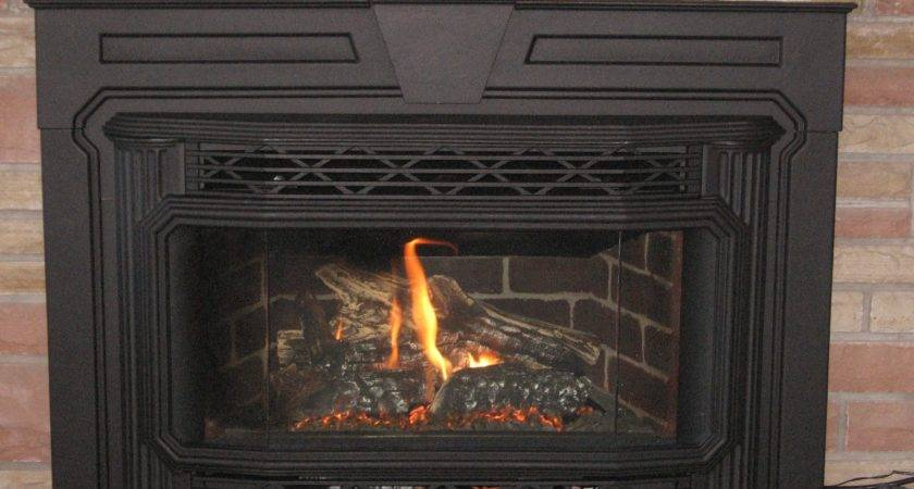 Replace Gas Fireplace Wood Insert Fireplaces