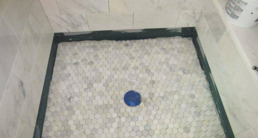 Replace Shower Floor Houses Flooring Ideas