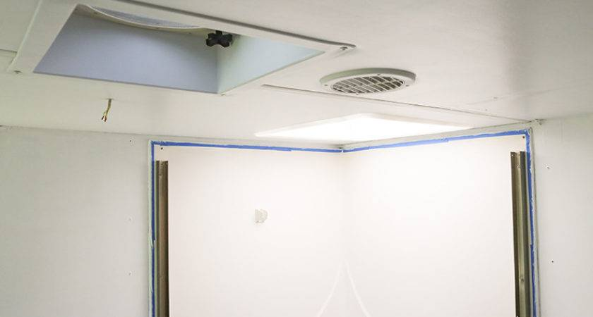 Replaced Ceiling Panel Our