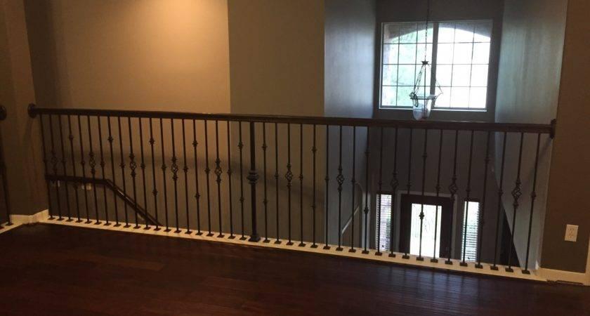Replacing Half Wall Wrought Iron Balusters Angela East