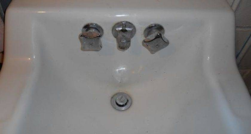 Replacing Old Bathroom Sink Doityourself Community