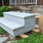 Replacing Our Crumbling Concrete Porch Steps Lansdowne Life