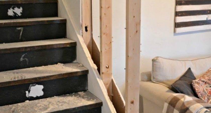 Replacing Stair Rail Wall Joy Studio Design