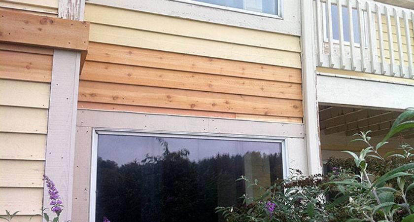 Replacing Wood Cedar Siding Wagoners Painting Epoxy