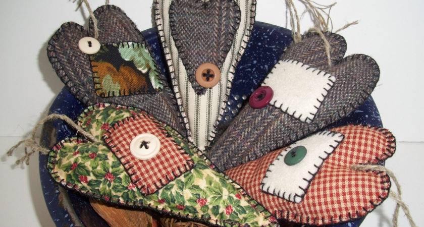 Reserved Nancy Handmade Primitive Ornaments Scented