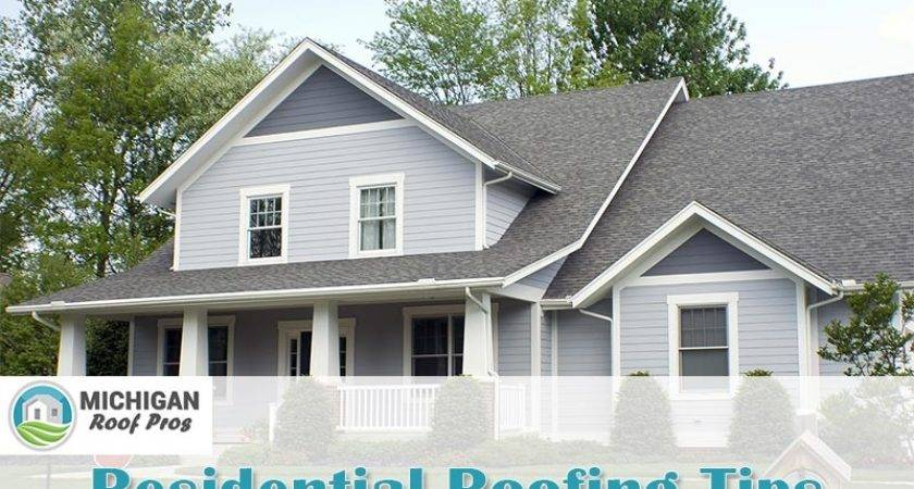 Residential Roofing Tips Michigan Homeowners