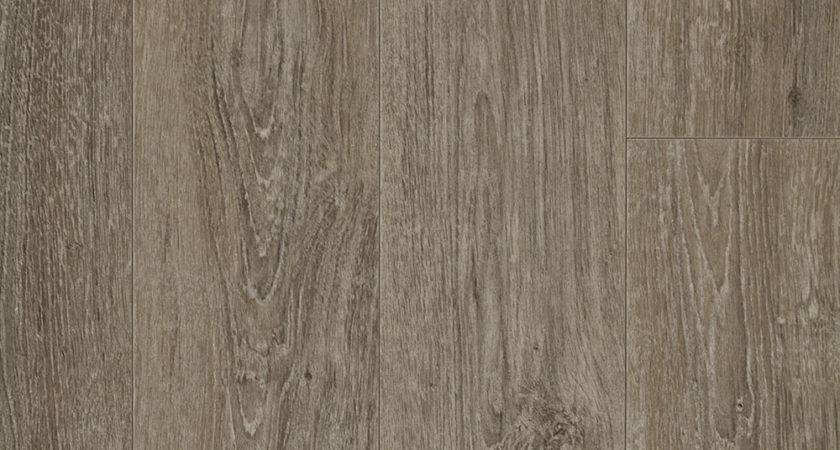Resilient Vinyl Plank Flooring Refined Oak Look