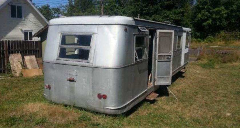 Restorable Vintage Travel Trailers Camper