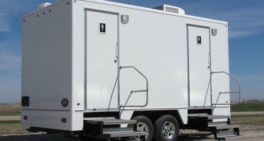 Restroom Trailers Rentals Luxury