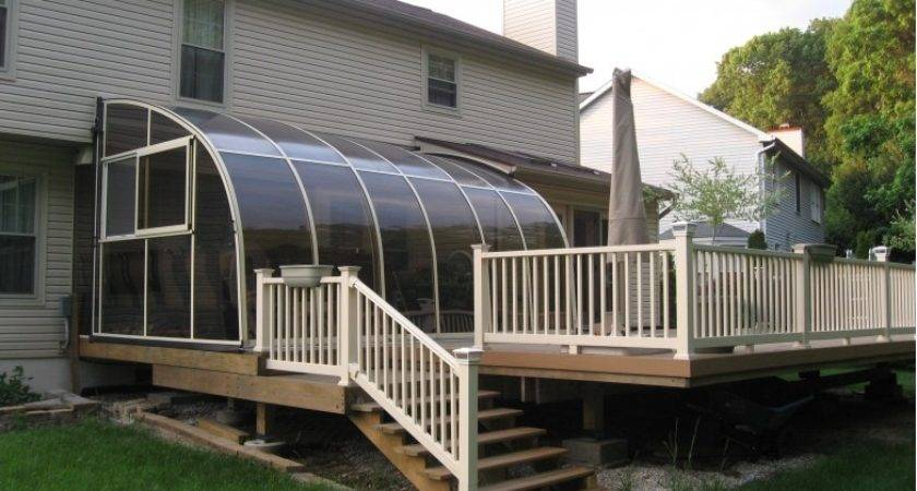 Retractable Deck Enclosure Design Ideas