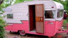 Retro Travel Trailer Rockabelle Bombshell