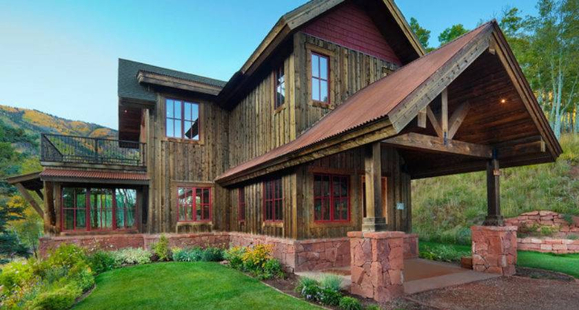Reudi Retreat Rustic Exterior Denver Axis