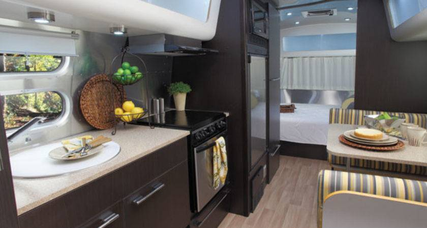 Review Airstream Luxurious Travel Trailer Fine Magazine