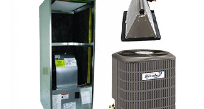 Revolv Ton Seer Heat Pump System Mobile Home